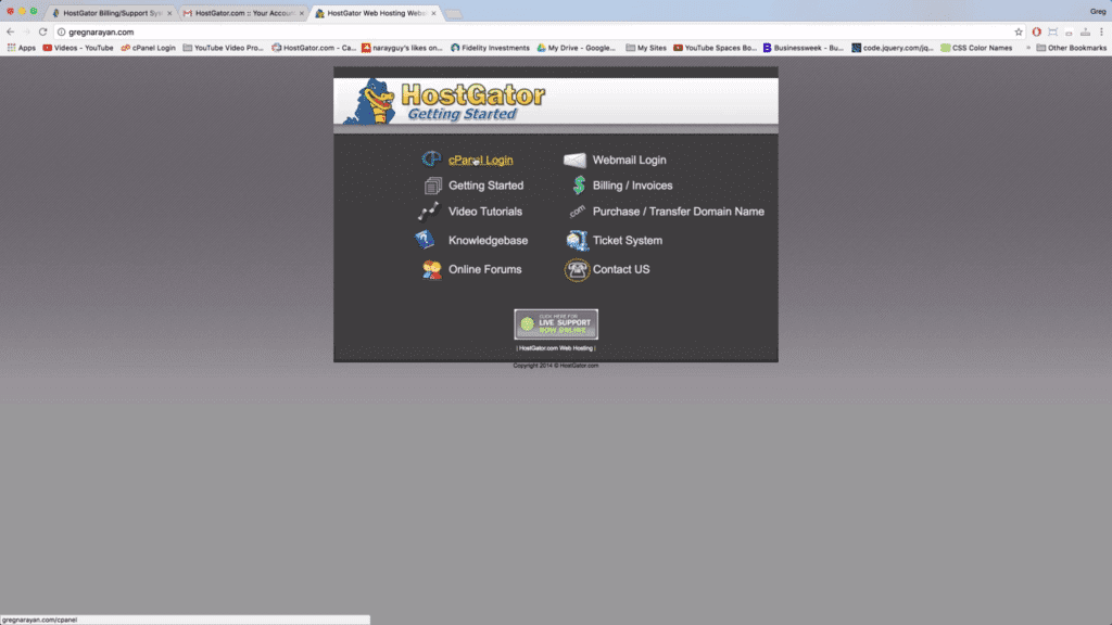 cpanel-screen-on-domain-name