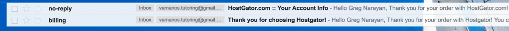 hostgator-your-account-info