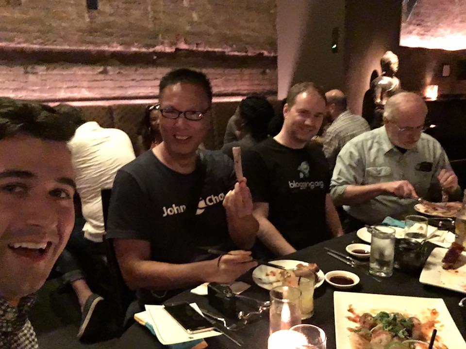 john chow dinner