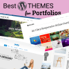 25 Best WordPress Themes for Portfolio Websites Review (Free & Premium 2018)