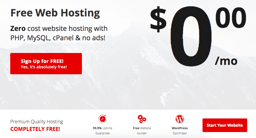 000 webhost review