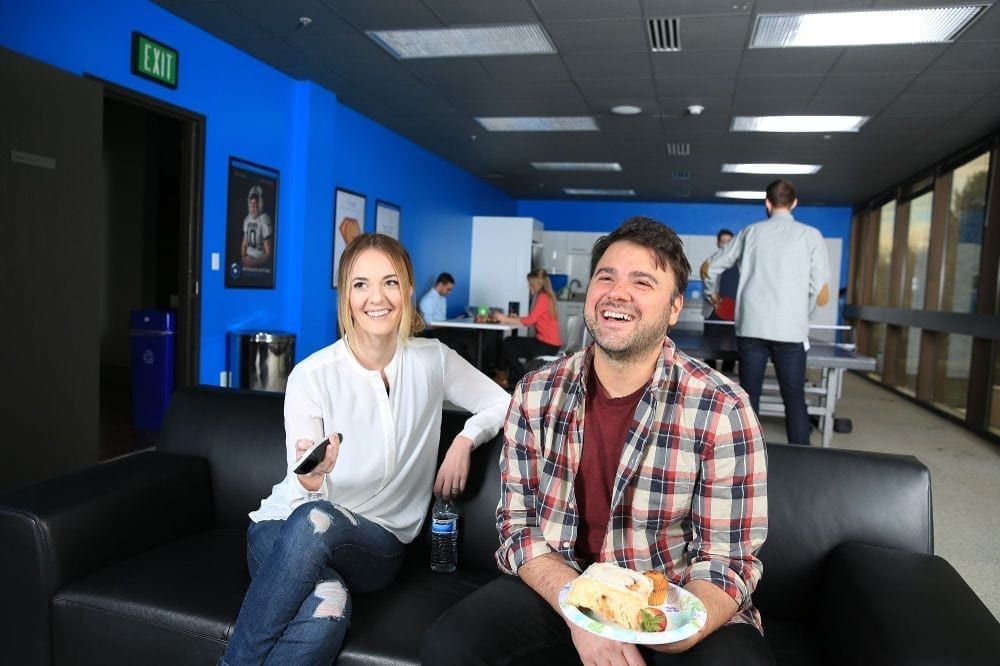 Bluehost Employees Lounge Party
