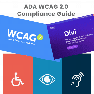 ADA and WCAG 2.0 Compliance Guide for a WordPress Website in 2019 (Step-by-Step)